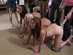 College lesbian show