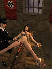 Nymph Bluehaired Girl In A Dungeon^3d Bdsm Adult...