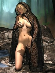 3d Sorceress Gets Captured And Filled By Dick^adult...