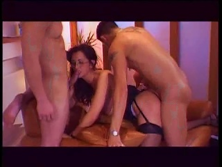 Two Young Hunks Dp The Slutty MILF