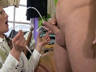 Sizzling Dressmaker Valentina Ross Is Fucked In Her Nasty Punani