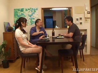 Chika Arimura Moans While Being Nailed By An Old Man