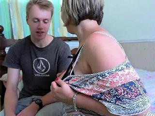 Agedlove Shooting Starr Taking Guitar Lesson Drtuber