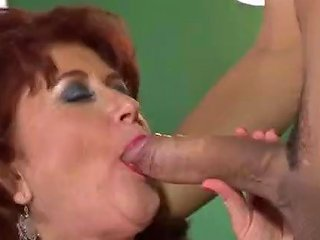 Young Meat For Horny Granny B R