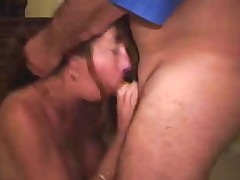 Amateur Milf Wife Blows 2 Guys And Takes Cum Free Porn De