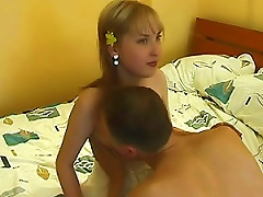 Amateur  Teen Gives A Great  In Homemade Vid