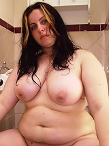 Сhubby brunette