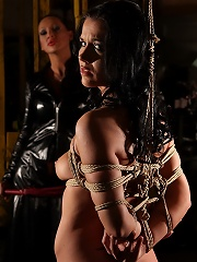 She Is The Perfect Subject For Some Bondage Plays
