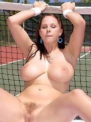 Game, Set, Tits^Score Land Big Tits girl sex girls big tits boobs busty babe babes