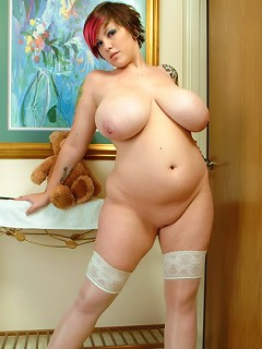 Naughty nurse Dors Feline prescribes a dose of her massive boobs