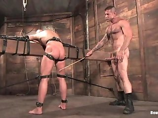 Chad Rock Allows Nick Moretti To Beat His Butt And Fuck It Hard