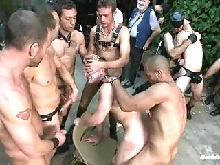 Hot Gay Drew Cutler Gets His Mouth And Ass Fucked In Public