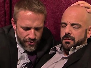Dirk Caber And Adam Russo Ramming Each Other Hard On The Bed Drtuber