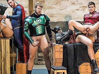 Brandon Cody Colby Keller Francois Sagat Johnny Rapid Ryan Bones In Justice League A Gay Xxx Parody Part 4 Supergayhero Txxx Com