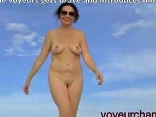 Voyeurchamp Com Exhibitionist Wife Tatiana Nude Beach