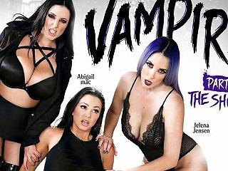 Abigail Mac Jelena Jensen Angela White In Vampires Part 4 The Showdown Girlsway Txxx Com