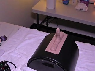 Sybian Prostate Milking With Gloved Handjob Porn Videos