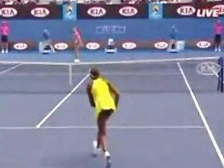 Venus Williams Upskirt No Panties On Tennis Court