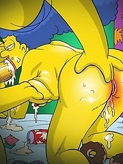 Sexy toons drinking and fucking till they pass out