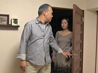 Sexy Japanese MILF Gets Fondled And Fucked By Her Husband
