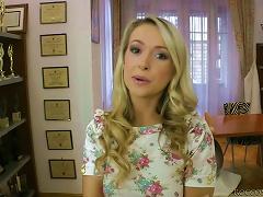 free cum video Blinding beauty of Roxy...