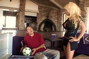 Blonde Mom Gets Drilled By Her Step Son