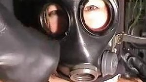 Playing With The Gasmask And The Penis Porn Ad Xhamster