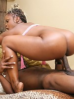 Coco Pink gets her big bubble butt stuffed with thick meat