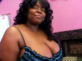 Chanel Diamond The Ebony Bbw Fucks In Interracial Video