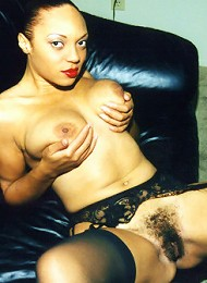 Linea is an extremely sexy light skinned black woman, who shows how horny she is just by glancing into those hypnotic eyes of hers