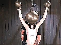 Pierced Nipples Slave Tormented