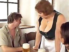 Big Tits Waitress Gets Some Dicks Txxx Com