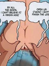 gardener screws his comics...
