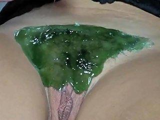 Brazilian Wax Shaving In Einem Zug Alles Weg Free Porn Bb