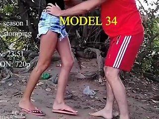 Ballbusting Brah Amanda Sadist Preview Model 34