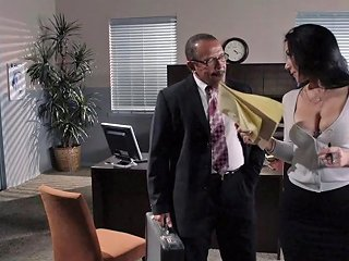 The Boss Fucks His Secretary And Busts A Nut On Her Face Any Porn