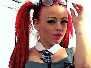 Hot Teen Redhead In Schoolgirl Roleplay Porn Ad Xhamster