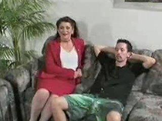 Seductive Older Woman Gets Inside His Pants