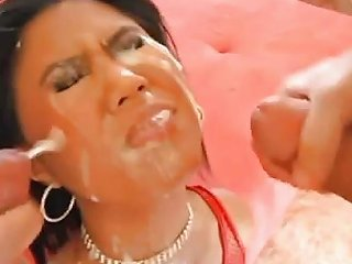 Classy Asian Business Woman Gets Coated In Cum Hd Porn 50