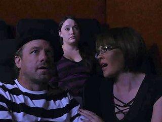 Teen Fucks Boyfriend In The Cinema With Her Stepmom The Porn Videos