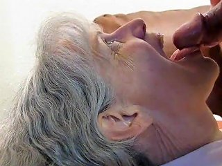 Grey Haired Granny Blowjob And Cum In Her Mouth Porn 80