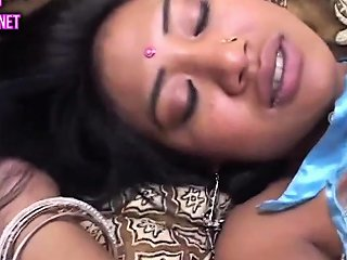 Dark Hairy Indian Pussy Taking White Big Cock