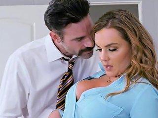 Busty Secretary Natasha Hot Office Fuck Sunporno Uncensored