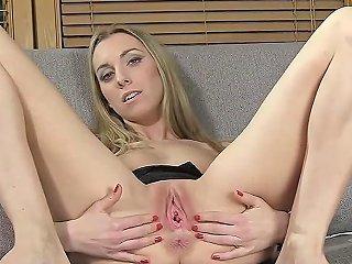 Frisky Czech Teen Opens Up Her Spread Slit To The Bizarre