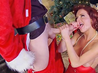 Fabulous Veronica Avluv And Danny D Share A Xmas Fantasy