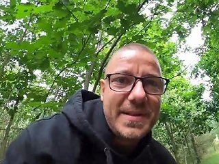 He Cum Twice On One Trip Blowjob While Driving And Fucking In The Woods