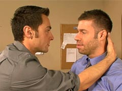 Tristan Jaxxx is struggling at work, and Tristan Phoenix seems to make all the right moves.  Tristan Jaxxx comes into Tristan Phoenix's office to