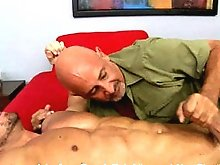 Free gay movies of naked muscle man Zeb Atlas having sex and cumming