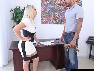 Hot Employer Nina Kayy Is Banged By A Big Dick Grunt Worker 124 Redtube Free Interracial Porn