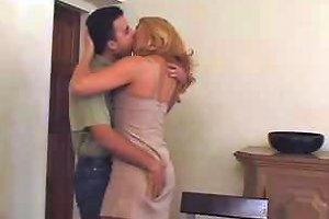 Sexy Blonde Mature In Pantyhose Loves Man's Milk Porn B7